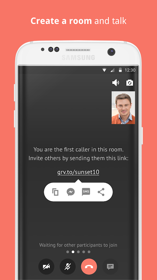 Gruveo: Free, Easy Video Calls- screenshot