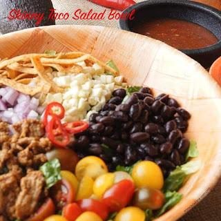 Skinny Taco Salad Bowl.
