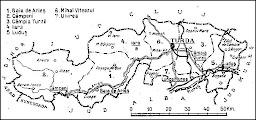 Photo: Harta judet Turda - interbelic sursa http://romaniainterbelica.memoria.ro/judete/turda/  publicata pe blog http://ana-maria-catalina.blogspot.ro/2015/01/turda-informatii-documente.html