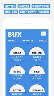 BUX - Mobil Traden Screenshot