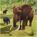 Giant Elephant Simulator: Wild Animals City Attack icon