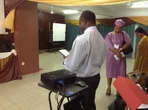 Photo: Invocation by Rev. Fr (Dr) Omenka