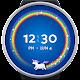 Unicorn Wear - a rainbow watch face for Wear OS