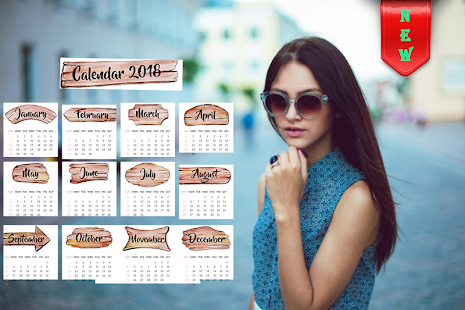 Calendar Photo Editor 2018 - calendar photo frame - náhled