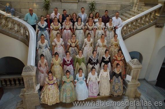 Ensayo Proclamación de las Candidatas a Falleras Mayores de Valencia.