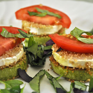 Zucchini and Goat Cheese Stacks Recipe