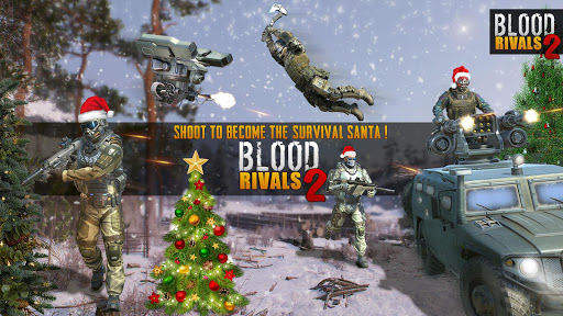 Blood Rivals 2: Tireur de survie de Noël  captures d'écran 1