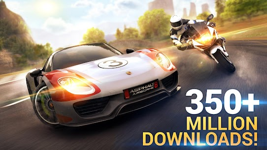 Asphalt 8 Airborne MOD APK (Unlimited Money) 1