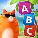 🔥Kitty Scramble: Word Stacks icon