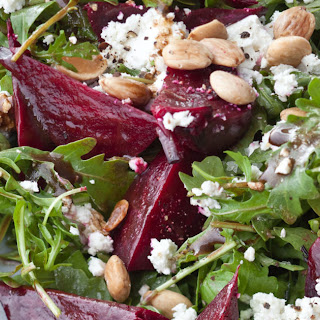 Balsamic Roasted Beet Salad.