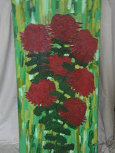 Photo: Mount Tomah Waratahs Oil 60cmx90cm $200