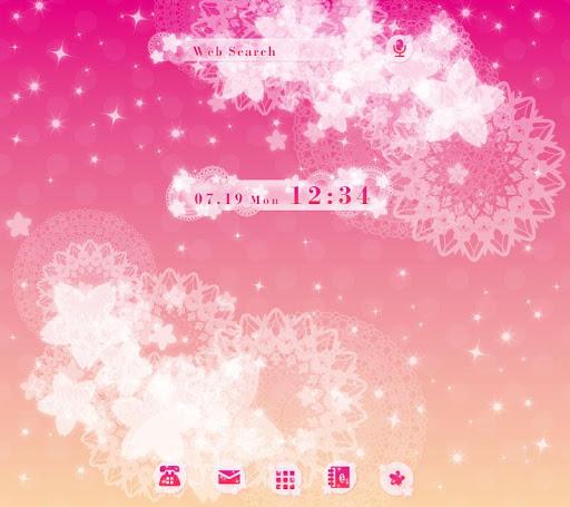 Pink Cute-無料着せ替え壁紙