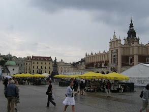 Photo: Marktplatz in Krakaus Altstadt