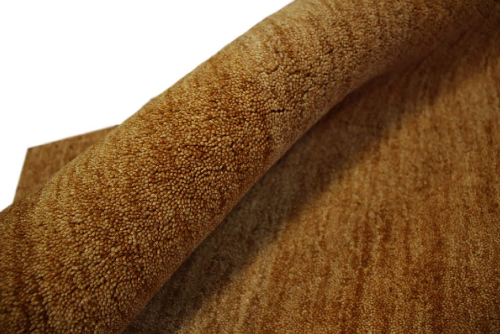 dywan gabbeh brazowy 70x140cm excellent wełna argentyńska