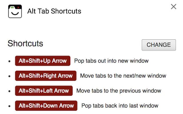 Alt Tab Shortcuts