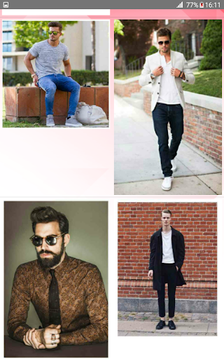 Street Fashion Men Swag Style 1.0 screenshots 3