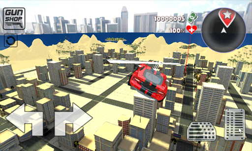 Crime City Game - Cars Fly 1.0.0.0 screenshots 1