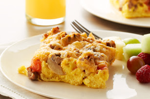 Photo: Sunday Brunch Bake by Kraft Foods. Find this recipe here: http://kraft.us/HEB1Z5