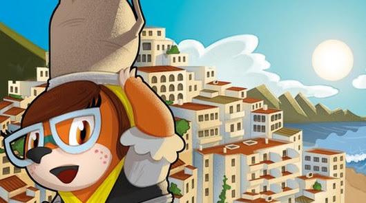 'Marta Topo': el simpático personaje que invita a los niños a descubrir Mojácar