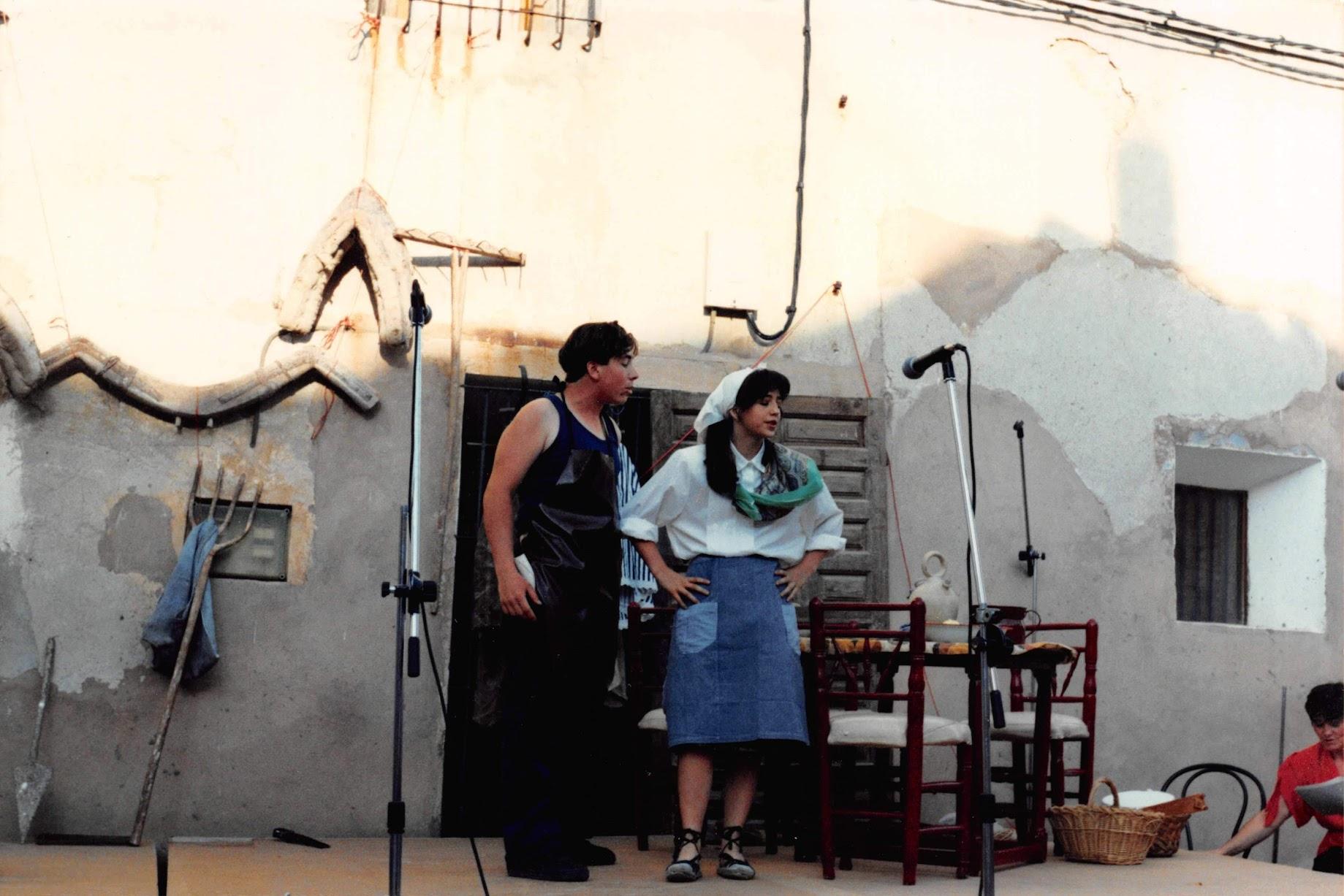 """1994 Escenificación de """"El Herrero de Pancrudo"""" por """"Amigos del Teatro"""""""