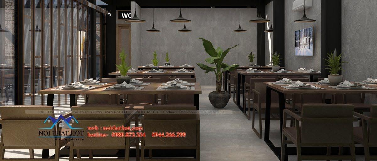 thiết kế nhà hàng 500m2 tại hà nội