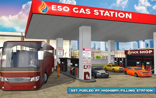 Smart Bus Wash Service: Gas Station Parking Games 1.1 screenshots 9