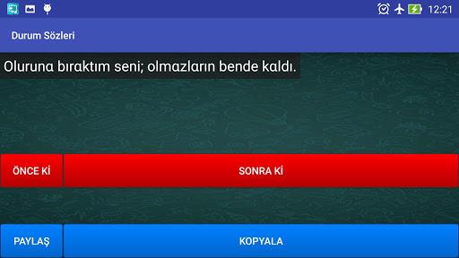 玩免費程式庫與試用程式APP|下載Kısa Durum Sözleri app不用錢|硬是要APP