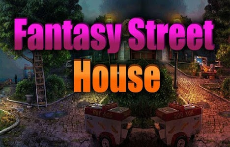 Fantasy Street House Escape screenshot 2
