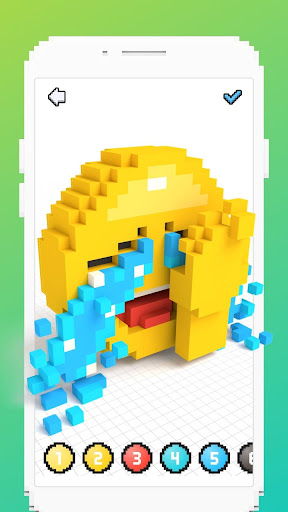 Voxel - 3D Color by Number & Pixel Coloring Book 2.4 screenshots 3