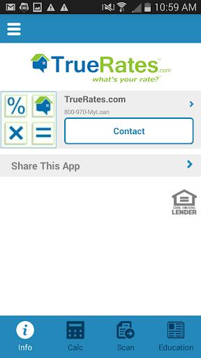 TrueRates mortgage calculator