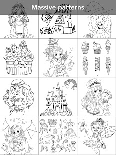 Princess coloring book 21