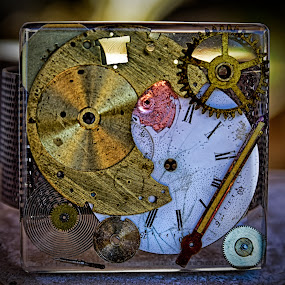 Time Is Not Important ! by Marco Bertamé - Artistic Objects Other Objects