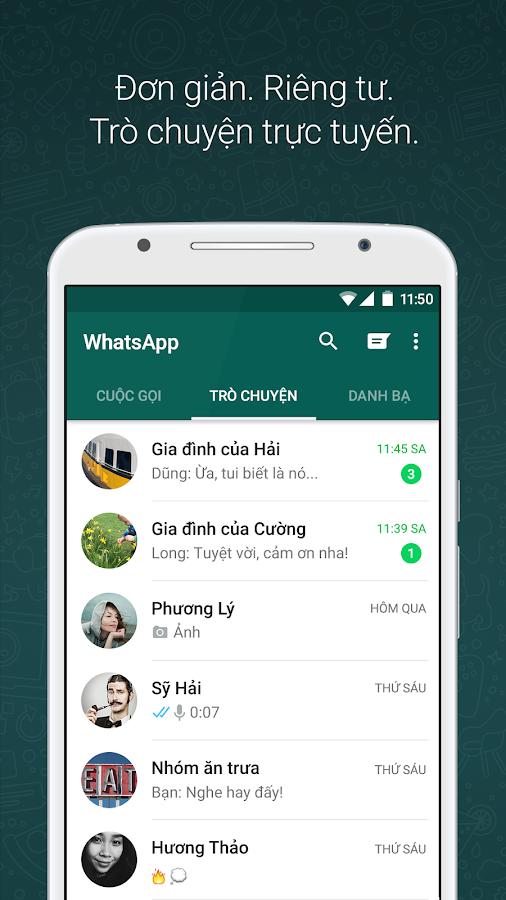 WhatsApp Messenger - screenshot