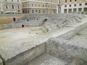 Photo: Lecce has magnificent remains of a Roman Theater