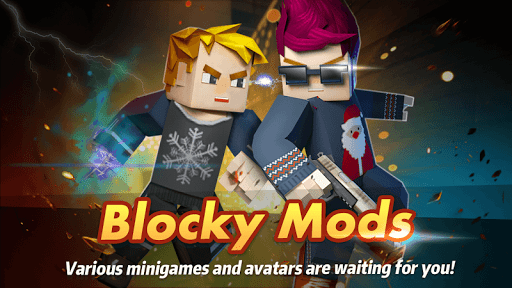 Blocky Mods : Mini games for Minecraft for PC