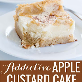 Easy Gluten Free Apple Custard Cake Recipe