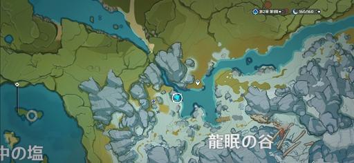 龍眠の谷_マップ