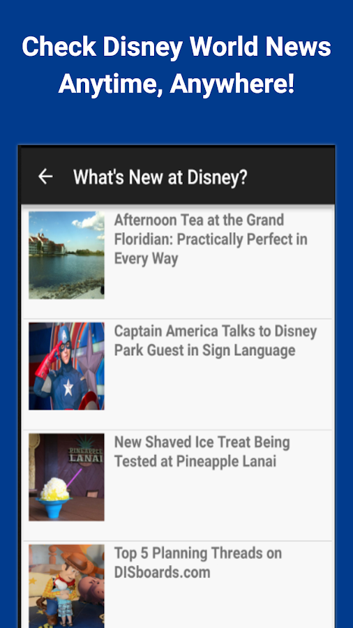 Ears the News: Disney World- screenshot