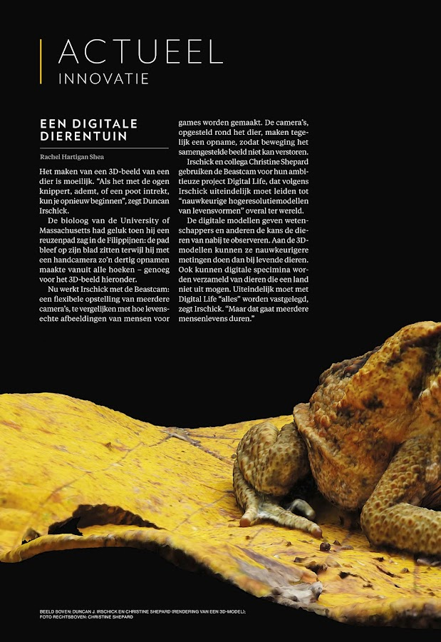 National Geographic Magazine NL- screenshot