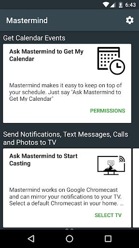 Mastermind Voice AI - Alexa, Google & workplace AI 2.0.1-PROD screenshots 12