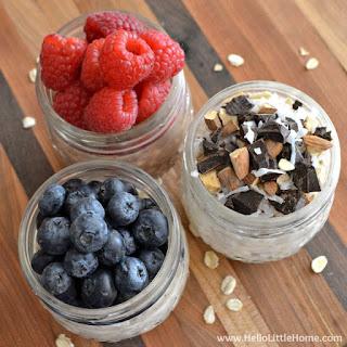 Easy Overnight Oats in a Jar … 3 Ways!