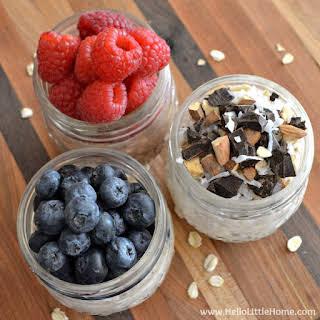 Easy Overnight Oats in a Jar … 3 Ways!.