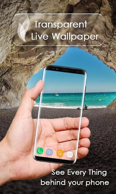 Transparent Live Wallpaper Android App Screenshot