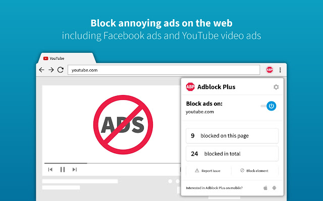 Adblock Plus - free ad blocker - Chrome Web Store