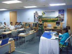Photo: Asamblea General de RENOVABLES - Presidente Marlyng Buitrago y Dinora Sandino
