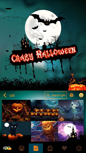 玩免費社交APP|下載Halloween Animated Kika Theme app不用錢|硬是要APP