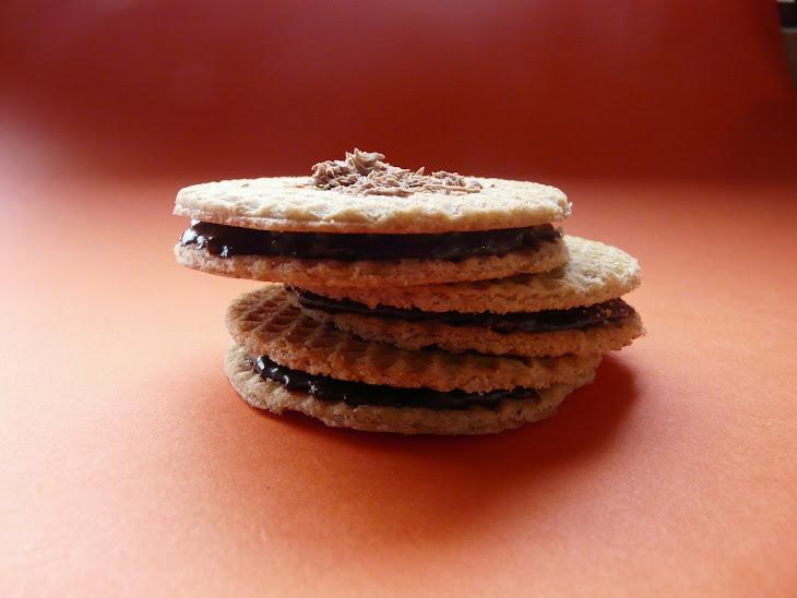Chocolate Wafer Sandwich Cookies