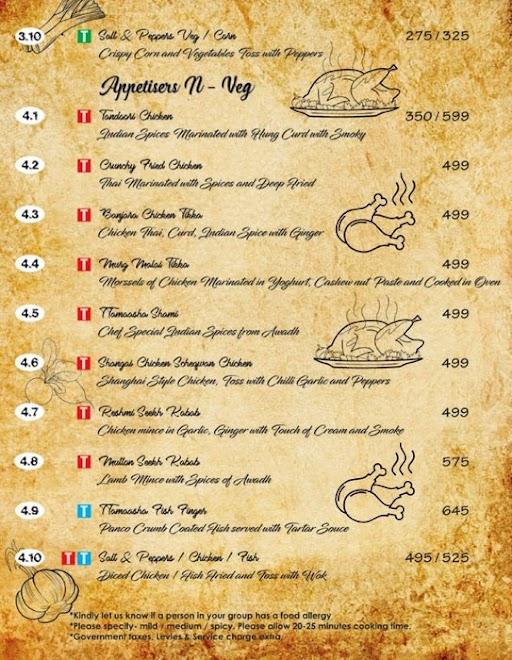 Ttamaasha Bistro Bar menu 8