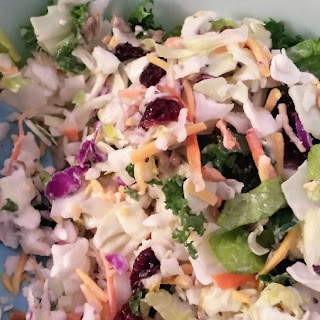 How To Make A Healthy Sunflower Crunch Salad.