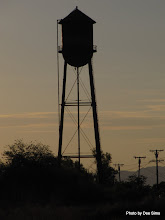 Photo: (Year 3) Day 38 - Water Tower in the Early Morning Light